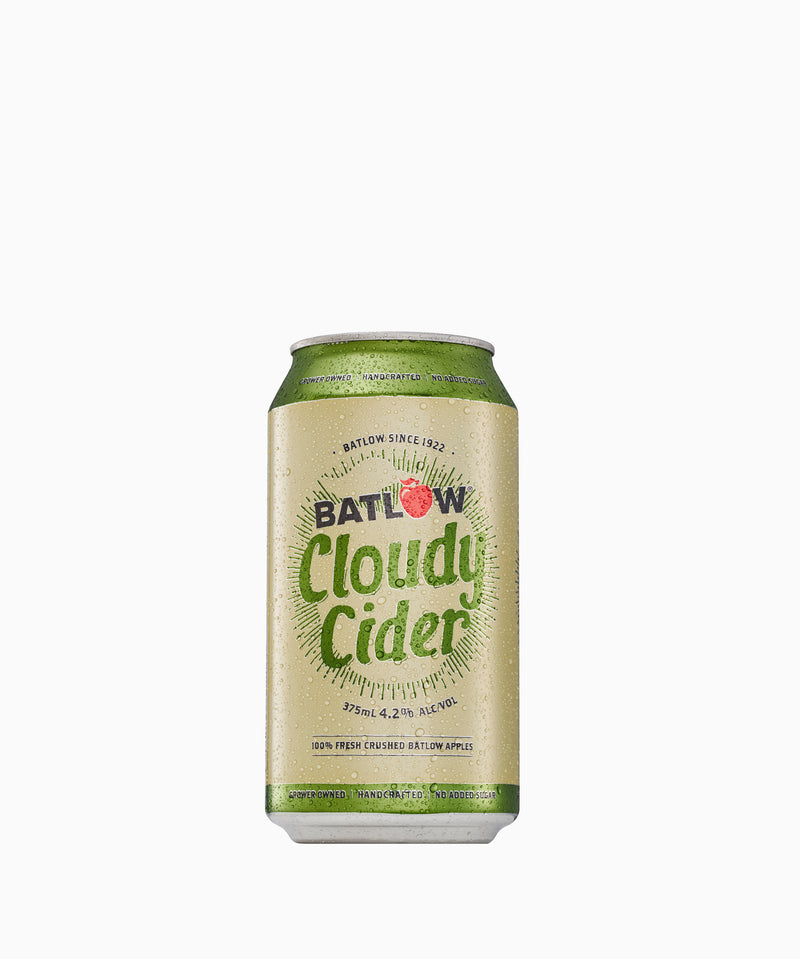 Batlow Cloudy Cider Cans - Case (24 x 375mL)
