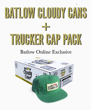 Batlow Cloudy Cider Cans Case + Cap Pack