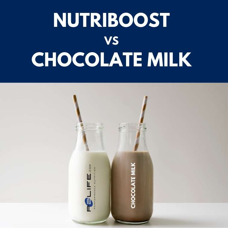 NutriBoost vs. Chocolate Milk: A Side by Side Comparison