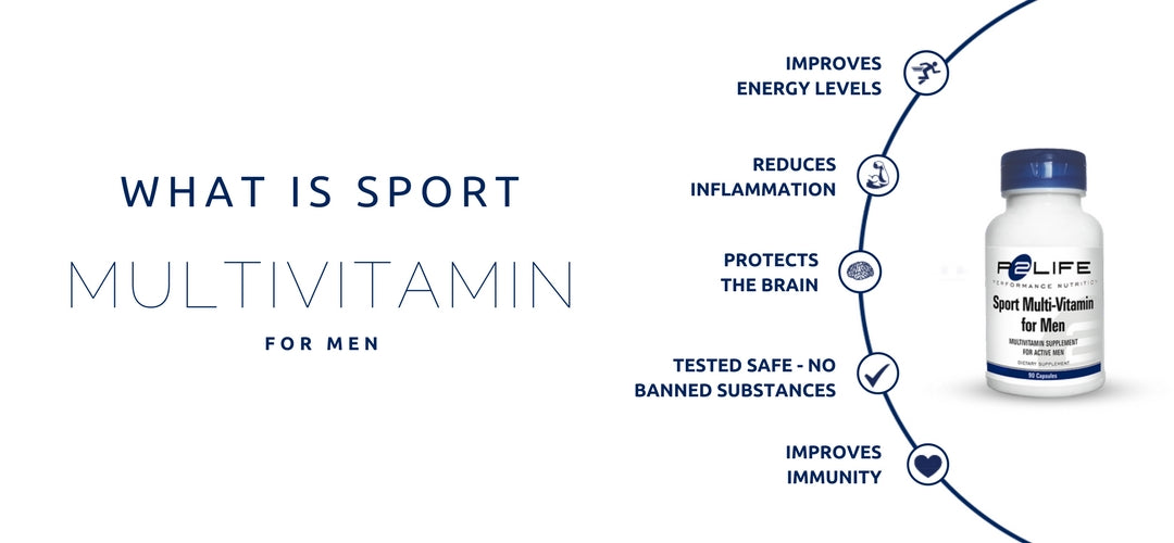 Multivitamin For Active Men and Sportsmen