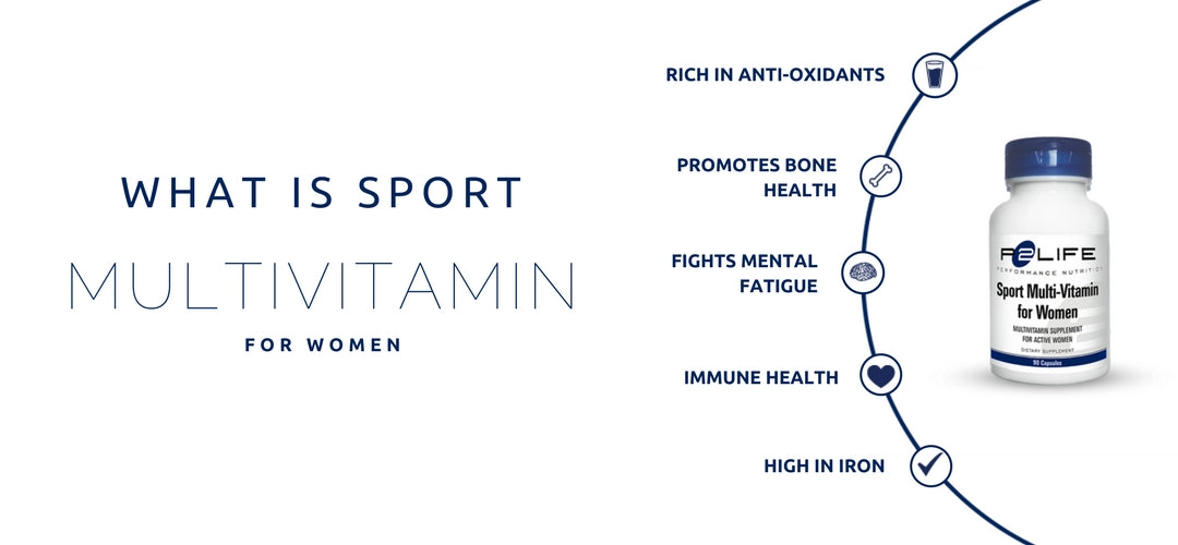 Multivtiamin For Women and Active Females
