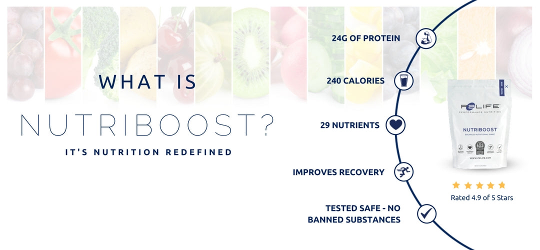 NutriBoost Shake - Most nutritious protein meal shake to speed up recovery in delicious chocolate, vanilla and strawberry flavors
