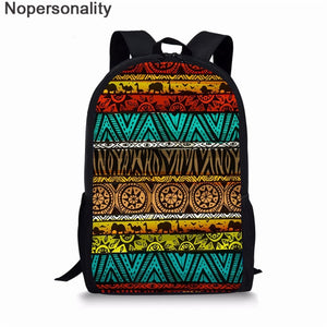 Black African Tradition School Bag