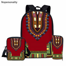 Load image into Gallery viewer, Black African Tradition School Bag
