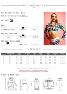 Fitness Tracksuit Digital Printed Letters Workout Women Two Pieces