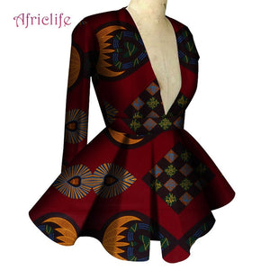African Clothes for Women Long Sleeve High