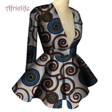 Load image into Gallery viewer, African Clothes for Women Long Sleeve High