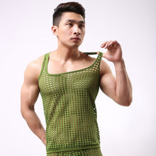 Load image into Gallery viewer, Men New Fashion Hollowed-Out Vest