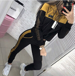 2019 Autumn New Sport Suit Women's Tracksuit
