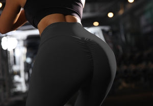 Ladies fashion new solid color pants high waist stretch leggings breathable sweat-absorbent pants jogging pants fitness pants
