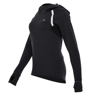 Breathable Patchwork Drawstring  Female Hoodie