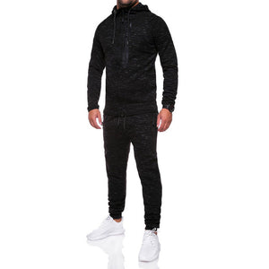Men's Tracksuit Jogging Hoodie Coat Jacket + Trousers Pants Sweat