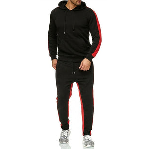 New 2-piece set Men Hoodies