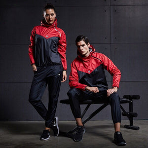 Hot Sweat Women and  Men Sports Suits