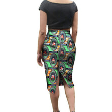 Load image into Gallery viewer, Traditional African Print Skirt for Women