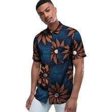 Load image into Gallery viewer, African print men's shirts