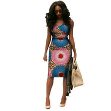 Load image into Gallery viewer, 2019 African Dresses for Women Summer African Clothes
