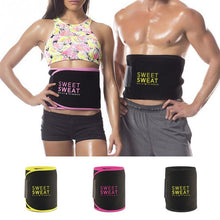 Load image into Gallery viewer, Sweat Band Wrap Tummy Stomach Sauna Sweat Belt