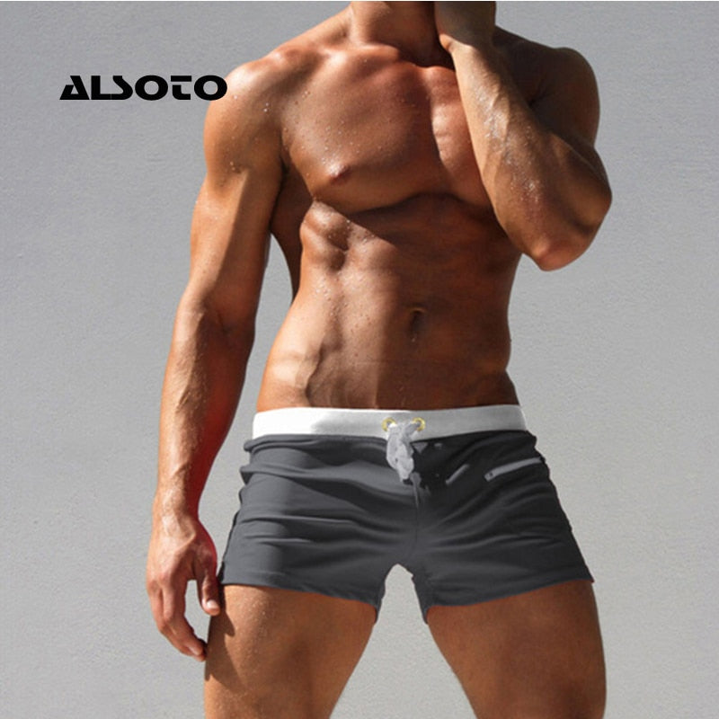 Weightasecond Men Swimwear Swimsuits Shorts