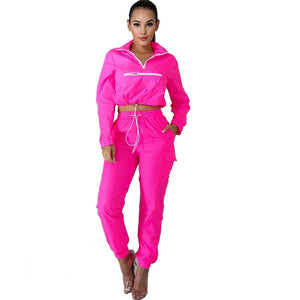 Casual Tracksuit Women Two Piece Sets