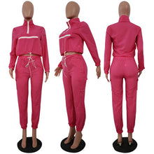Load image into Gallery viewer, Casual Tracksuit Women Two Piece Sets