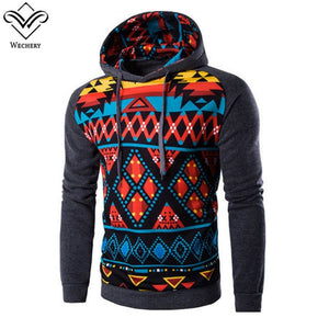 African Style Pullover for Men Colorful