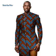 Load image into Gallery viewer, 100% Cotton Shirts  African Print