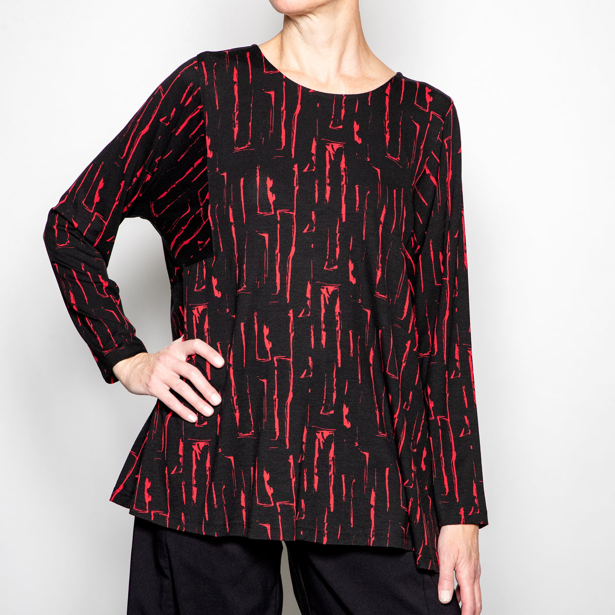Q'Neel Printed Top