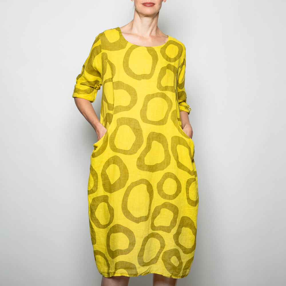 Kaktus Circle Citrine Dress