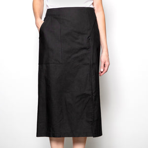 Baloot Asymmetrical Slit Skirt