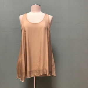 Baci Sheer Silk Tank