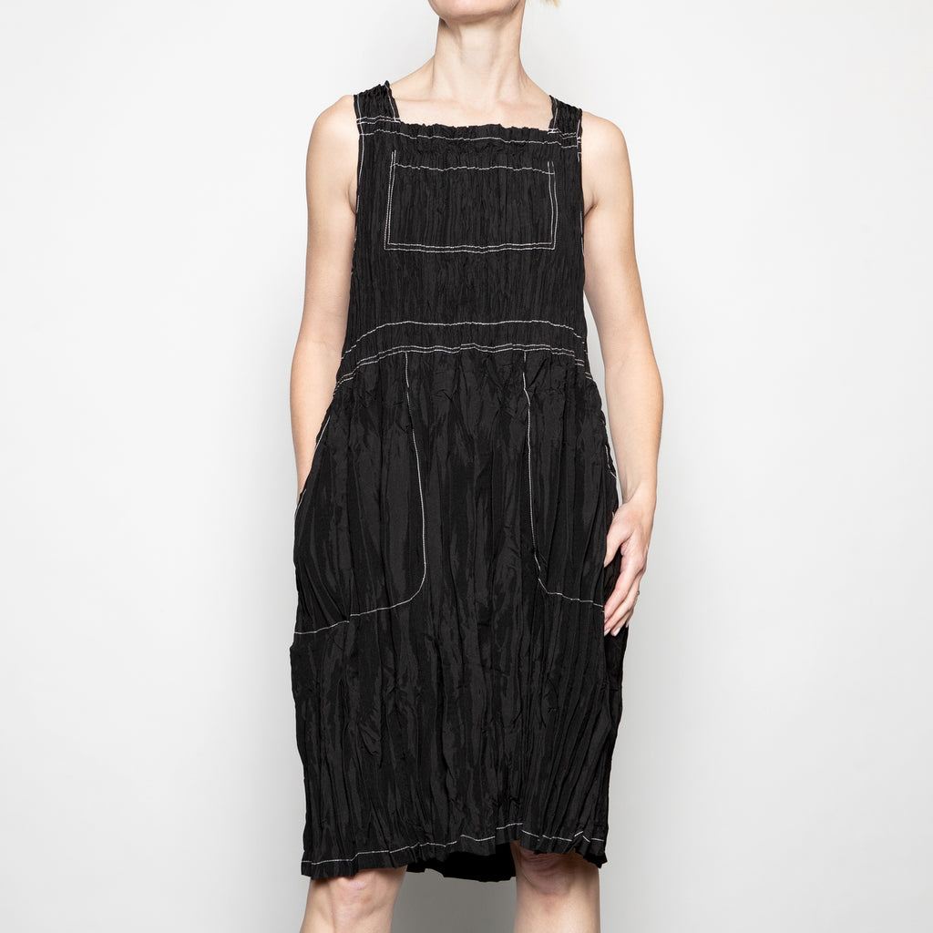 Alquema Overall Dress in Black