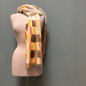 Lua Clay Fences Scarf