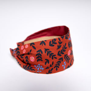 Cookie and the Dude Classic Headband in Crimson Wonderland