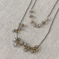 Karen Haas Natural Zircon Nugget Necklace