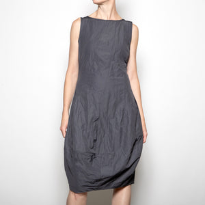 Porto Antibes Dress in Fumo Grey