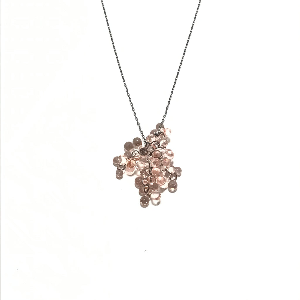 Krista Bermeo Coral Necklace in Light Pink