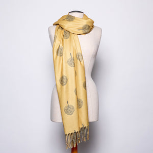 Pretty PersuasionsTree of Life Wrap in Mustard