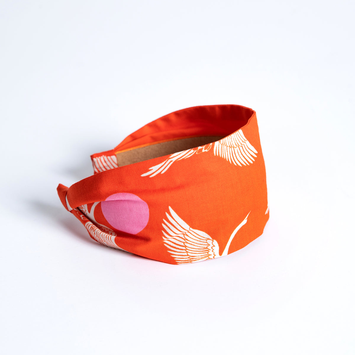 Cookie and the Dude Classic Headband in Fire Egrets