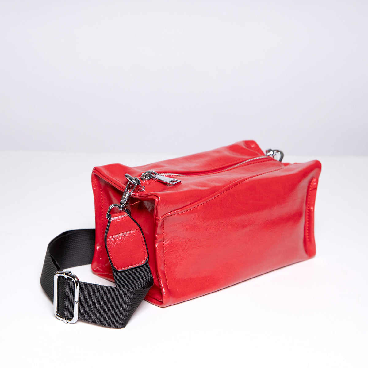 Boxy Bag in Red