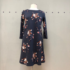 Joules Swing Jersey Dress with Pockets- Allie Blue Floral