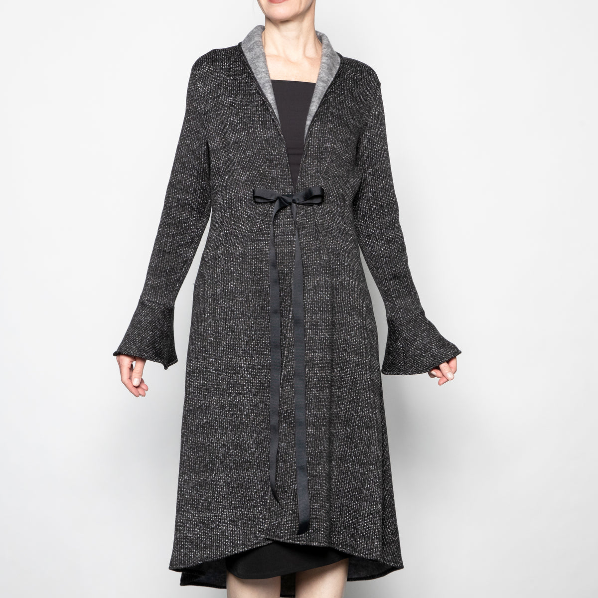 Staples-Arlene Coat in Charcoal