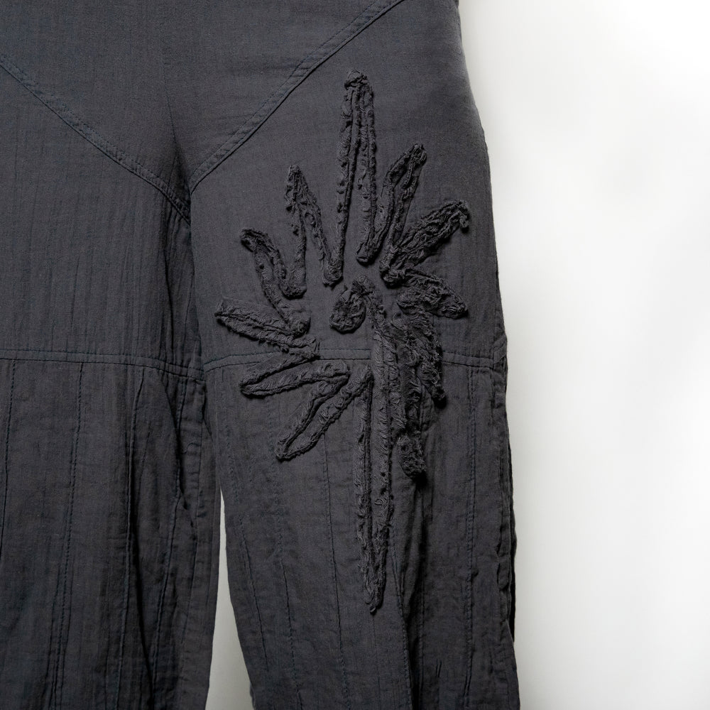 Peacock Ways Easy Embellished Pant