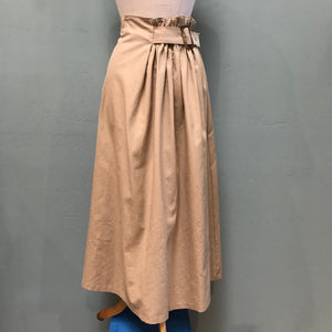 Baloot Belted and Gathered Skirt