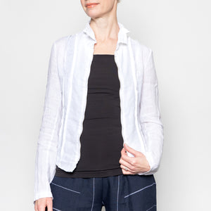 Inizio Fitted Zipper Jacket