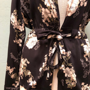 Rosemunde Fairy Flower Print Jacket