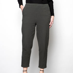 Grade and Gather Textured Pants-S0254