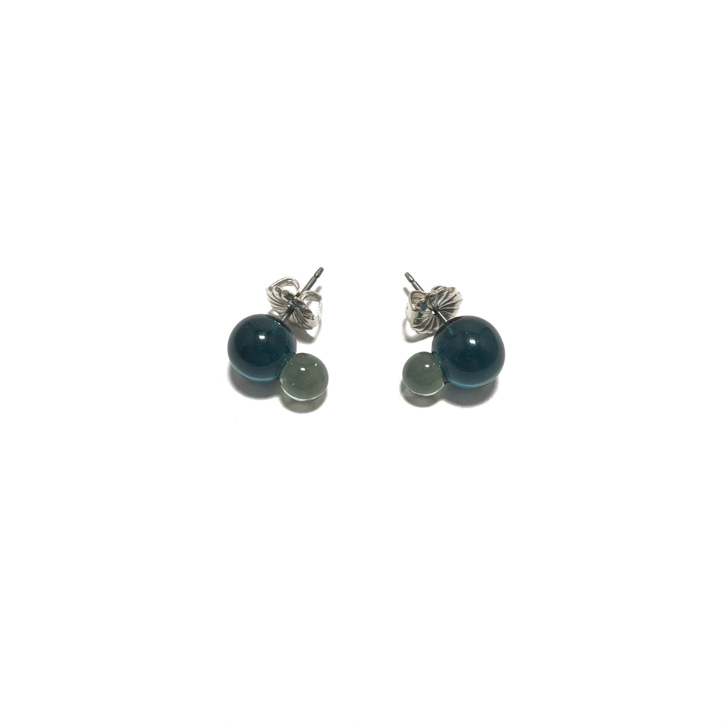 Krista Bermeo Double Globe Earrings