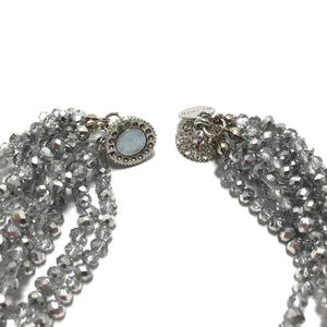 In Things Silver Beaded Necklace