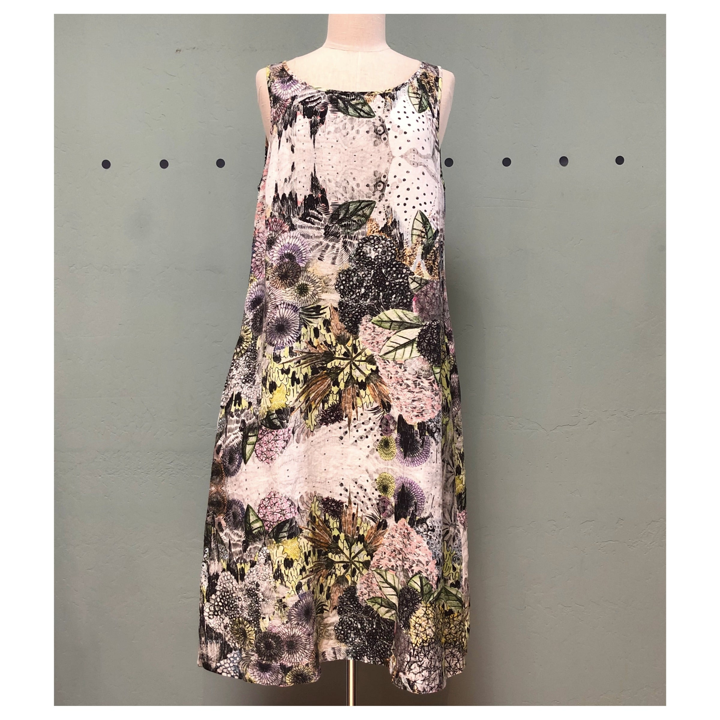 Grizas Floral Tank Dress